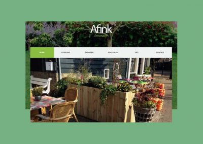 Website Afink Hoveniers