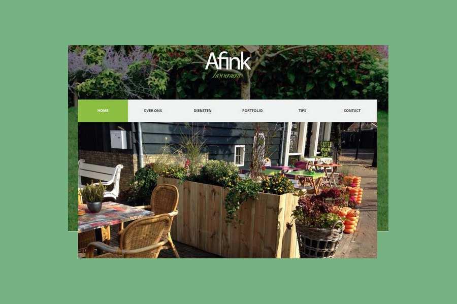 Website Afink Hoveniers