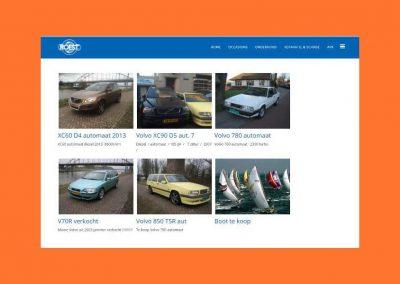 Voorbeeld website Jan Roest