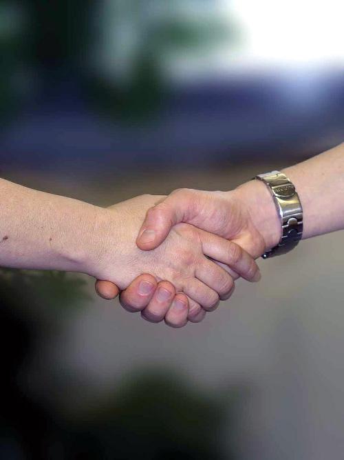 Handshake - Onze werkwijze