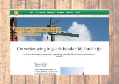 Website Lou Steijn Timmerwerken