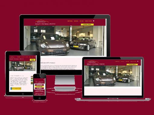 Website voor Autobedrijf Brakenhoff