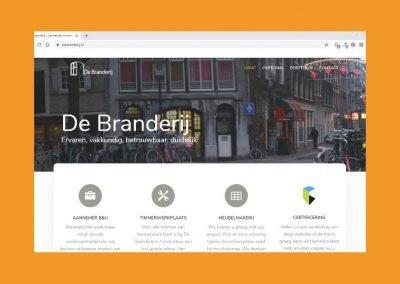 De-Branderij - portfoliopagina