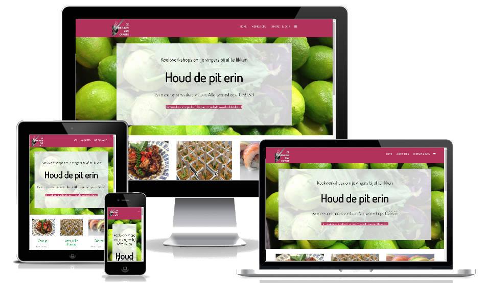 Website laten maken - voorbeelden