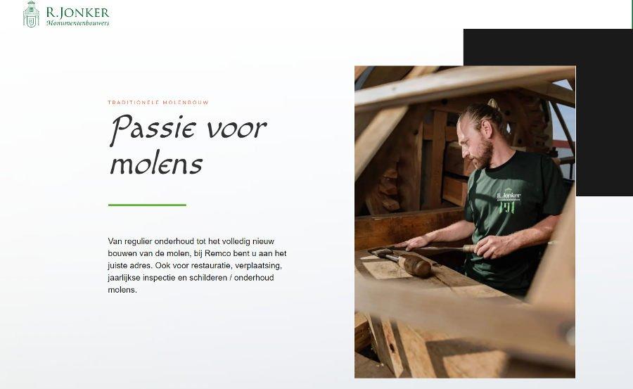 R. Jonker Restauratie & Molenonderhoud BV
